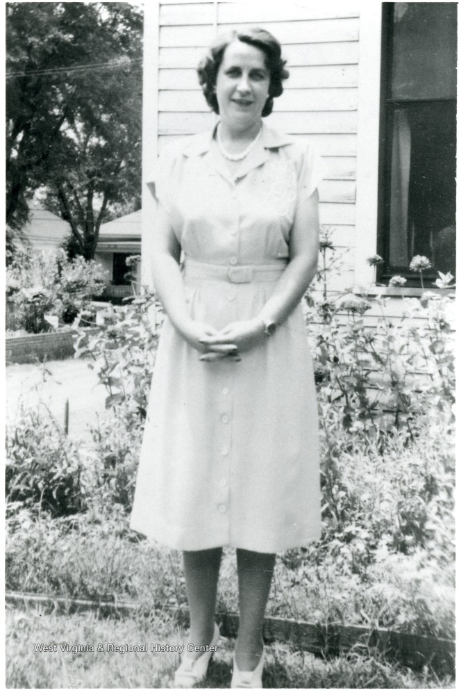 Portrait of Katherine Estenline, Director of Scott's Run Methodist Settlement House 1939-1941.