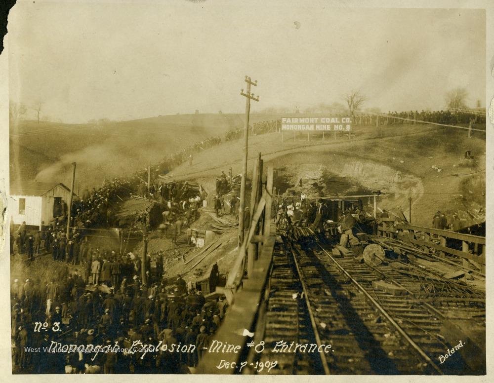 Monongah Coal Mine Explosion Memorial Photographs, The