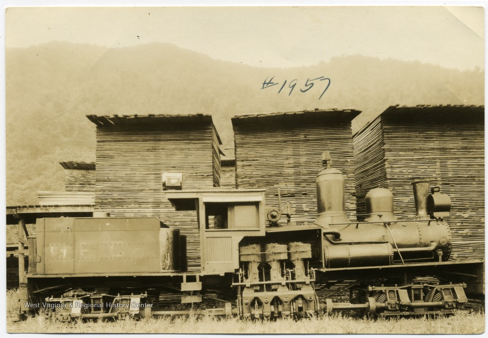 'M. M. and D. D. Brown Locomotive purchased from Porterwood Lumber Company, Porterwood, W. Va., where picture was taken.'