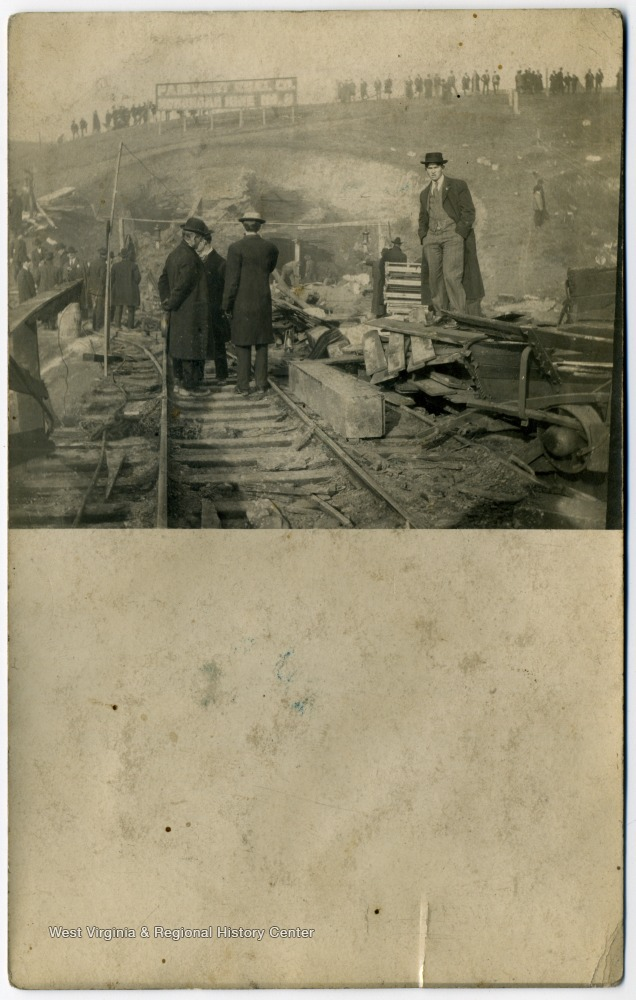 Monongah Mine explosion in 1907, a number of men lost