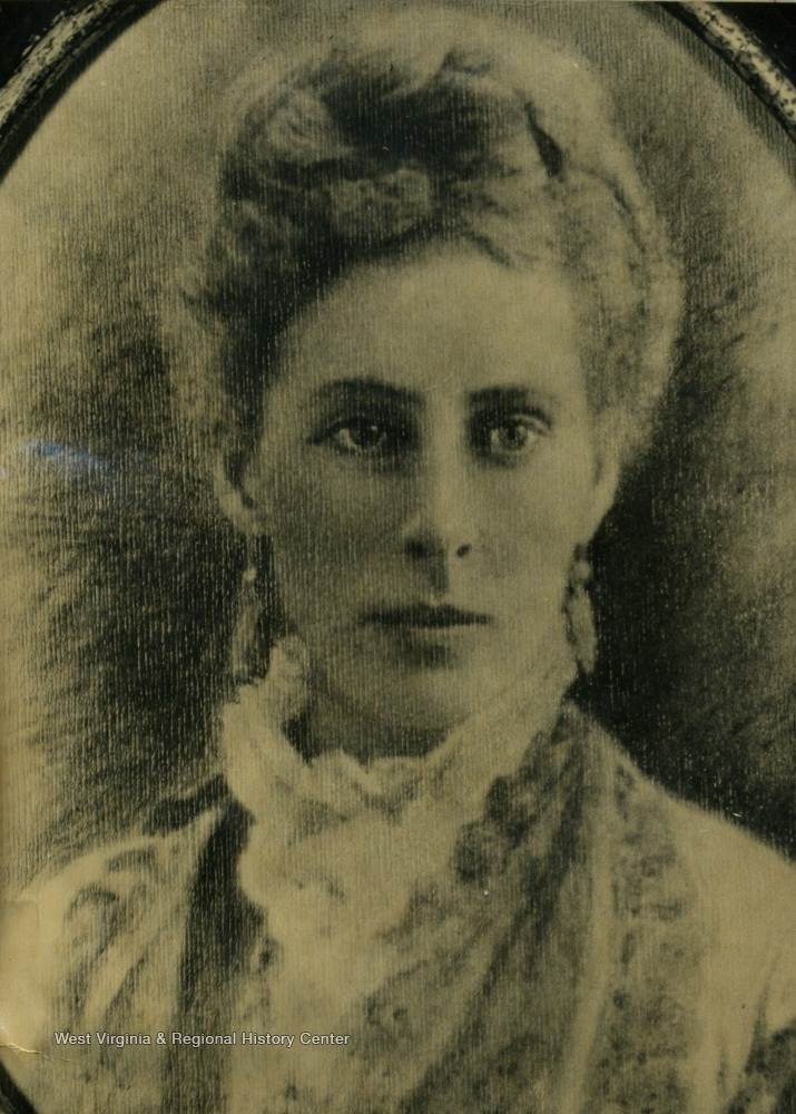 Wife of West Virginia Governor William A. MacCorkle (1893-1897).