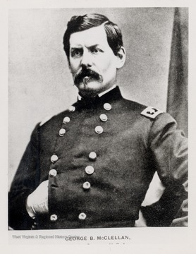 Portrait of General George B. McClellan.