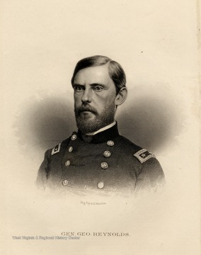 Engraving of General George Reynolds.