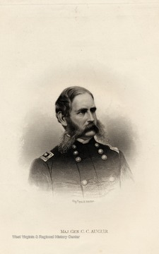 Engraving of Major General C.C. Augur by A. H. Ritchie.