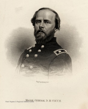 Engraving of Major General D.M. Couch.