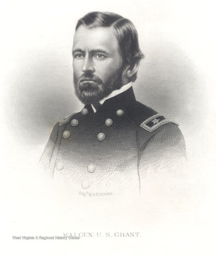Portrait of Major General U.S. Grant.
