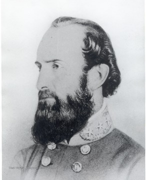 "Portrait of General Thomas J. ""Stonewall"" Jackson."