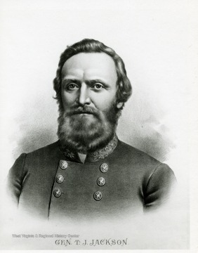 Portrait of General Thomas J. Jackson.
