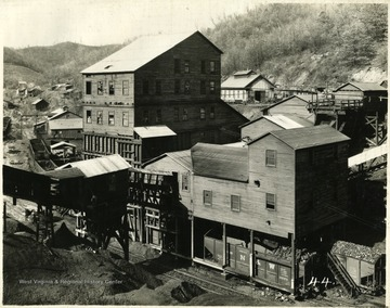 Preparation Plant, Louisville Mine, Goodwill, Mercer County. This mine first loaded coal in 1887.