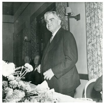 John L. Lewis at a dinner during a Consolidation Coal Co. Inspection Trip.