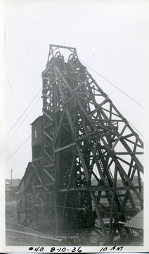 Headframe at 10 a.m.