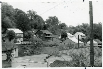 Some miners houses at Prudence, W. Va.