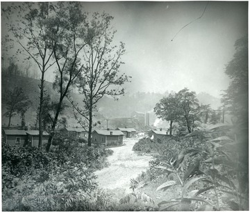 Miner's houses, coke ovens, and tipple at Richard, W. Va.