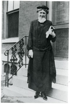 A portrait of Arabelle G. Crothers, Director of Scott's Run Settlement, 1926-1931.