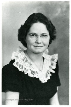 Portrait of Jenny Yoder, Director of Scott's Run 1941-1942.