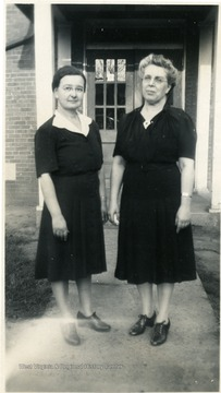 Scotts Run Directors, Laura Robbins, 1944 and Edwards, 1945.