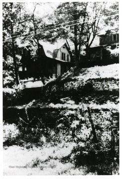 View of houses at Beury, W. Va.