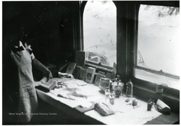 Marie Isselstein at her work space.