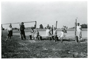 Children on a baseball field.