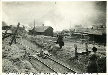 Photo taken during the Ludlow Strike.