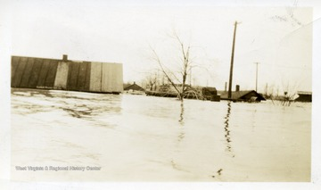 Route 45 entering Harrisburg, flooded.