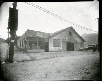 Compton's Garage located on the corner of East Main Street in Grafton, West Virginia.