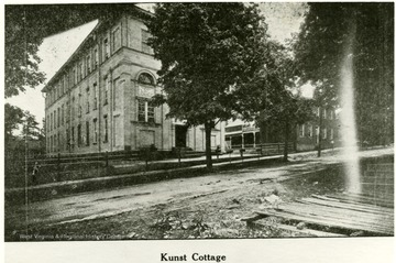 Kunst Cottage at the W. Va. Industrial School for Boys in Grafton.
