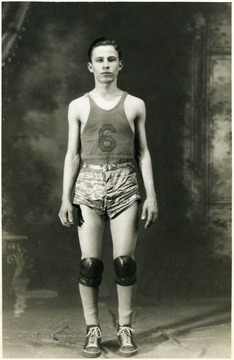 Joseph Idoni is pictured around age 17.