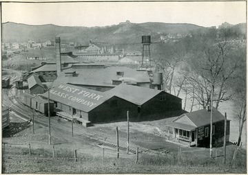 Image from 'Industrial and Picturesque Clarksburg, W. Va.' published by the Press of the Clarksburg Telegram Company, Printers and Publishers, Clarksburg, W. Va., 1911.
