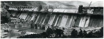 The Tygart River Dam in Grafton, W. Va.