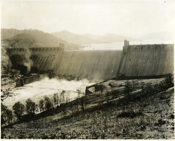 The Tygart River Dam in Grafton, W. Va. opened.