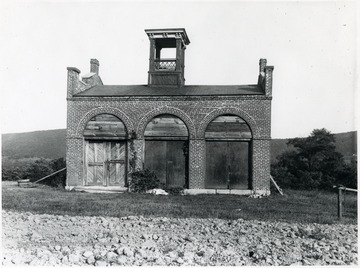 John Brown's Fort was used to store fertilizer in 1909.