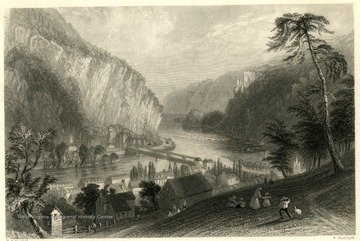 Family on a hill overlooking Harpers Ferry, W. Va.
