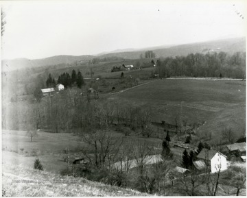 View of several farms in Helvetia, W. Va.