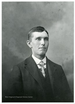 A portrait of Hugo Betler of Helvetia, West Virginia.