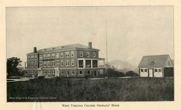 A building at the West Virginia Colored Orphan's Home in Huntington, Cabell County, West Virginia.