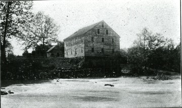 Jackson's Mill sits next to the river.