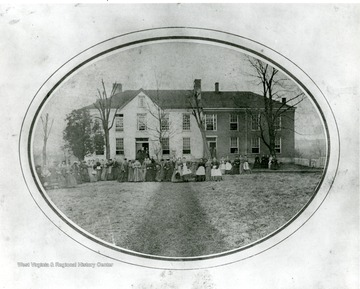 'Woodburn Seminary was used by West Virginia University until February 1873, when it burned.'