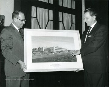 'Architect for the project is Irving Bowman and Associates, Charleston.  The picture was sent to Senator Byrd by the Public Health Service.'