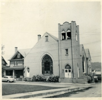 'Morgantown - Westover (Methodist ?) Church.'