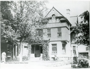 'W.H. Cook (One of I. C. White's Residences - See New Dominion 1903 Industrial Edition.)'