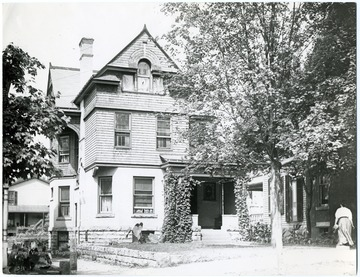 'W. H. Cook (One of I . C. White's Residences - See New Dominion 1903 Industrial Edition.)'