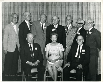 A group portrait of West Virginia University Alumni.