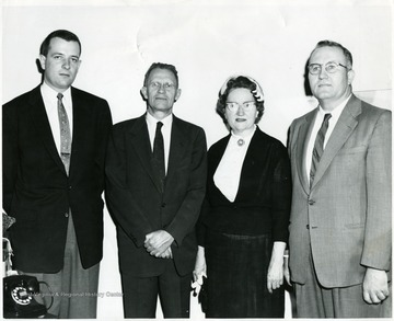 Mrs. Elmer Durk, second from right.