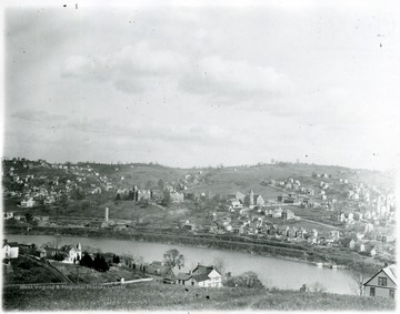 View of Morgantown from across the Monongahela River.