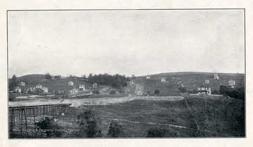 Early view of South Park before many houses were constructed.