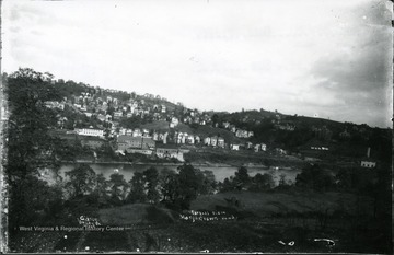 A partial view of Morgantown from Westover.