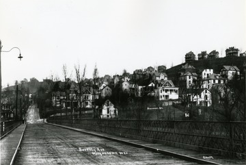 Bridge on Beverly Avenue which is now University Avenue.