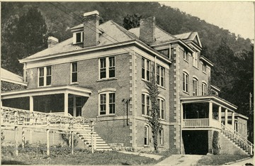 McKendree Hospital No. 2 'Number of patients treated during June, 1927 was 272' the superintendent was M. V. Godbey, M. D. This institution is located at McKendree, Fayette County, and is reached by the Chesapeake and Ohio Railroad.