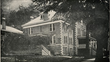 McKendree Hospital No. 2 'Number of patients treated during June, 1920 was 105' the superintendent was H. L. Goodman. This institution is located at McKendree, Fayette County, and is reached by the Chesapeake and Ohio Railroad.